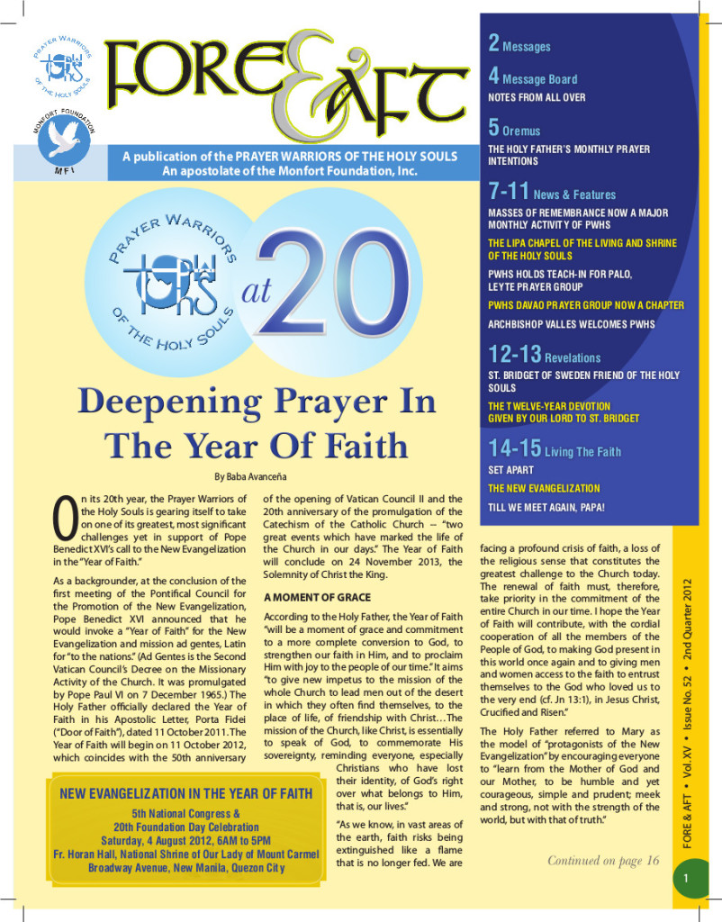 52-2nd Quarter Issue 2012