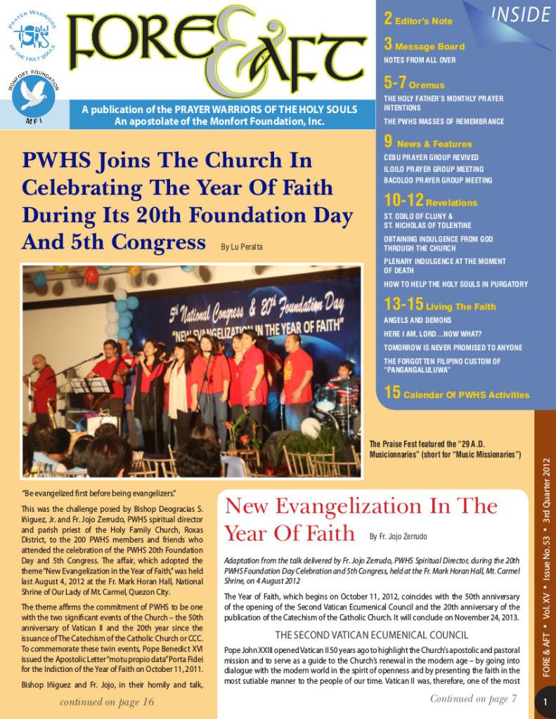 53-3rd Quarter Issue 2012