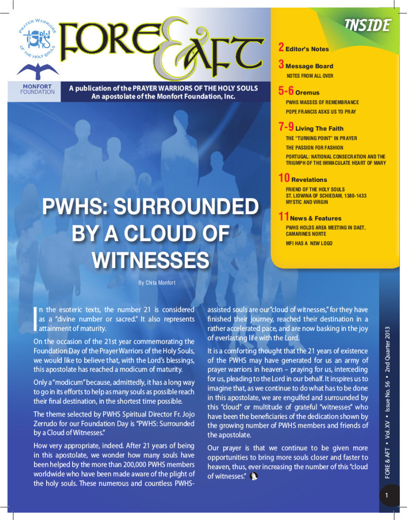 56-2nd Quarter 2013 - Issue no 56