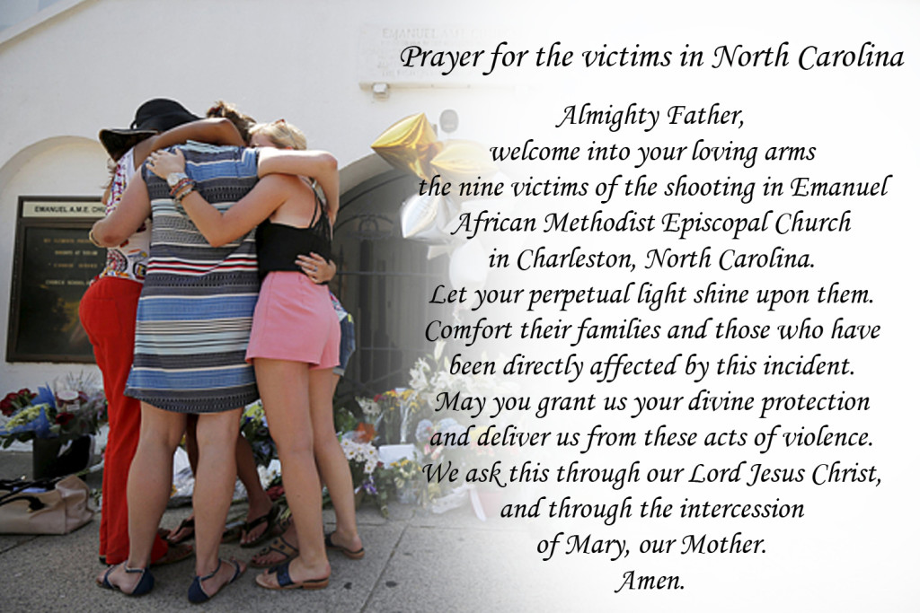 Prayer for North Carolina