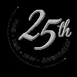 25 years logo